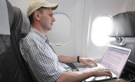 Conexión wifi de United Airlines