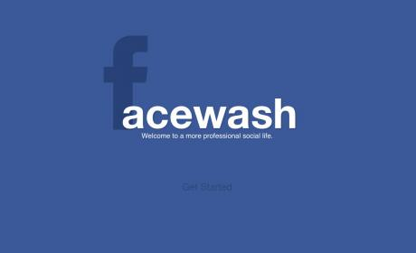 Interfaz FaceWash