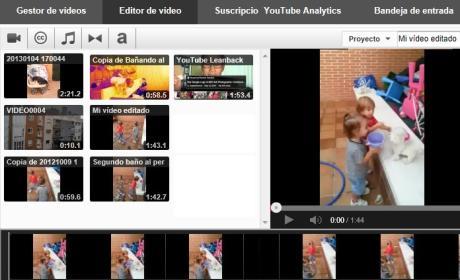 Editar un vídeo en YouTube