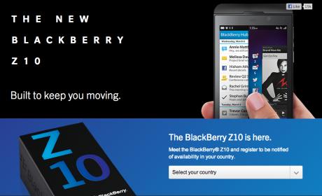 Presentado el nuevo BlackBerry 10
