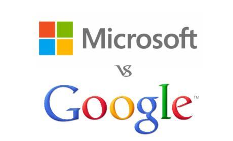 Microsoft contra Google