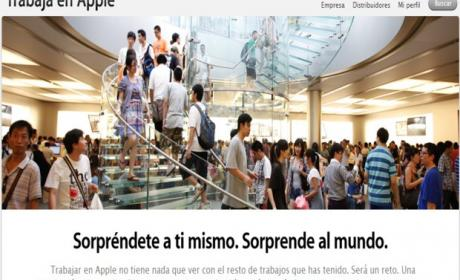 apple empleo