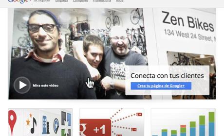 Crea una página de empresa en Google Plus