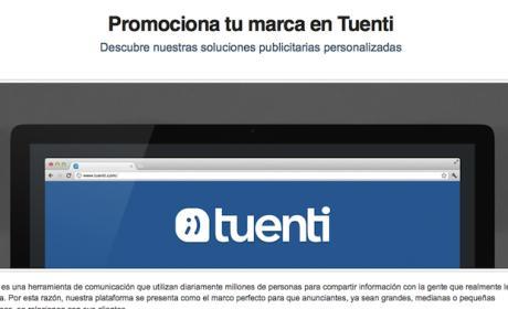 Crea una página de empresa en Tuenti