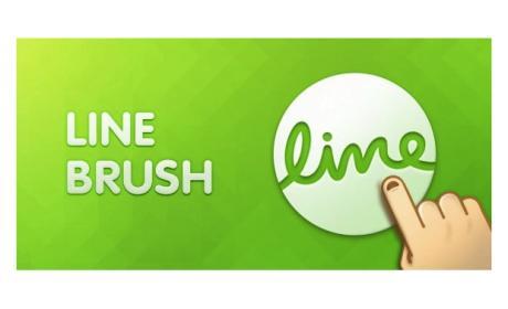 Dibuja en el móvil con LINE Brush