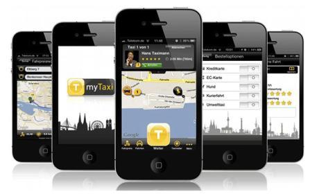 Pide un taxi desde tu smartphone con la app MyTaxi