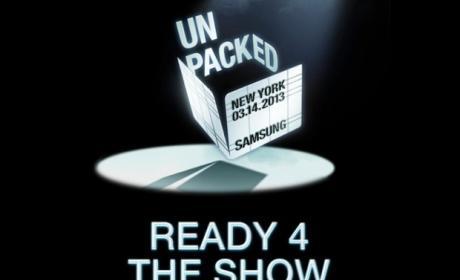 El Samsung Galaxy S4 será presentado el próximo 14 de marzo en Nueva York