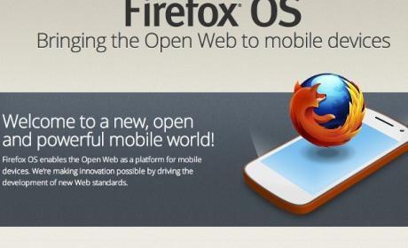 Firefox OS Sony
