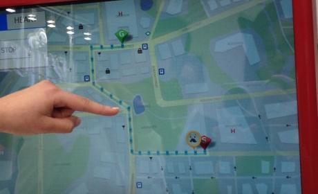 Fujitsu muestra en MWC un prototipo de bastón con GPS