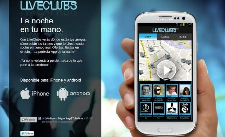 Liveclubs App