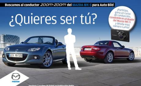 Prueba el nuevo Mazda-MX5 con Autobild