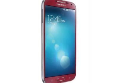 Samsung Galaxy S4 Aurora Red