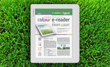 PocketBook Color Lux, un e-reader a color con luz