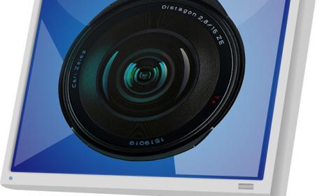 monitor y cámara