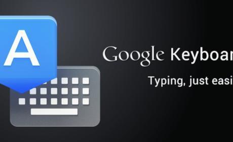 Google Keyboard, ahora una app independiente.