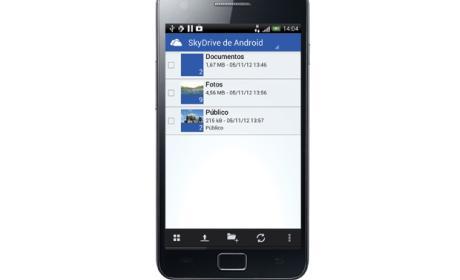 Comparte con SkyDrive