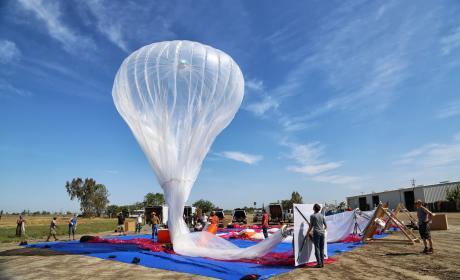 Project Loon: Google usa globos para transmitir Internet