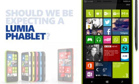 Nokia Lumia Phablet