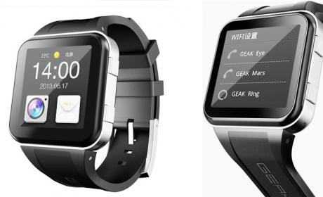 GEAK Watch, el primer reloj inteligente, es hecho en China y usa Android