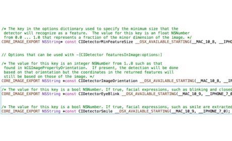 Nuevo API para el iPhone 5S