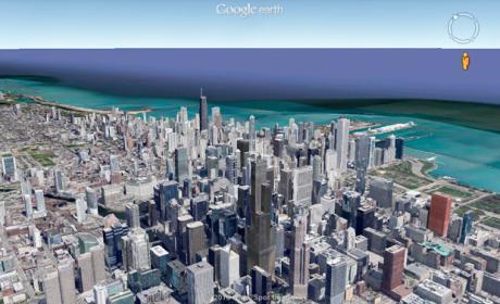 Google Earth ahora tiene Street View, en iOS y Android