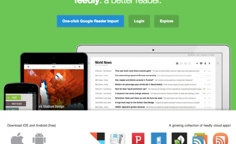Importa tus feeds de Google Reader a Feedly