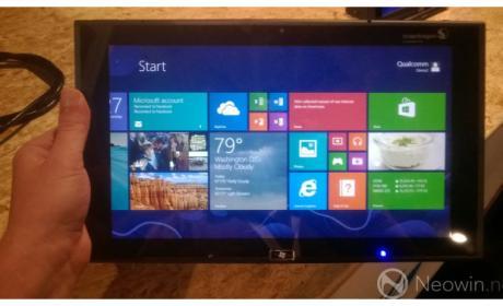 Una tablet en BUILD, no del todo disponible