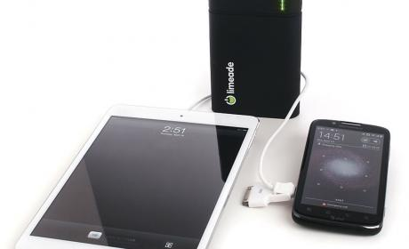 Limeade, carga tu smartphone o tablet
