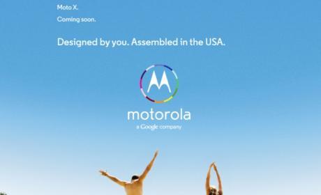 """Se filtra anuncio del Motorola X: """"Diseñado por ti"""""""
