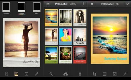 Cómo luce la nueva app de Polaroid