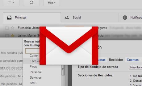 Gestión eficiente de Gmail con secciones y pestañas
