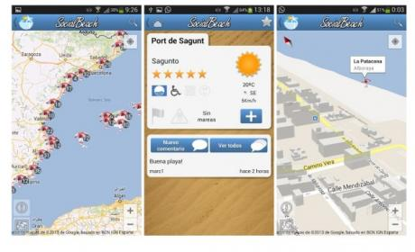 Social Beach: el estado de las playas en tu iPhone o Android