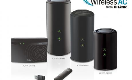 D-Link presenta su gama de routers Cloud WiFi Wireless AC