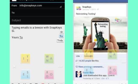 SnapKeys Si, teclado virtual
