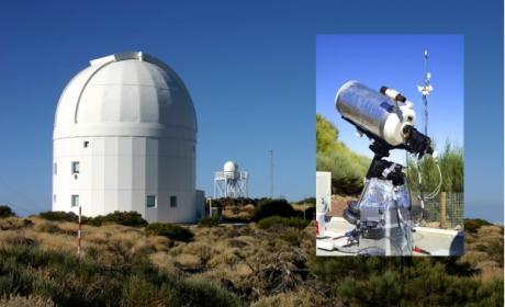 Controla el telescopio TAD desde tu casa, a través de Internet