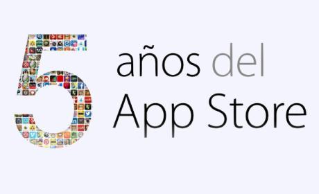 Quinto Aniversario de la App Store
