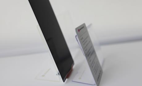 LG presenta la pantalla más fina del mercado
