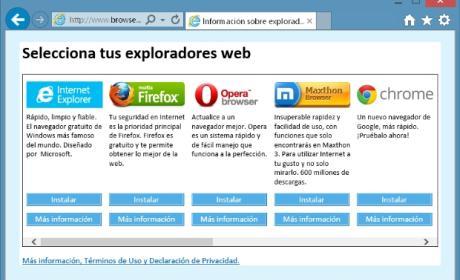 Chrome supera a Internet Explorer y Firefox