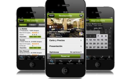 Reserva restaurantes en tu móvil eltenedor.es