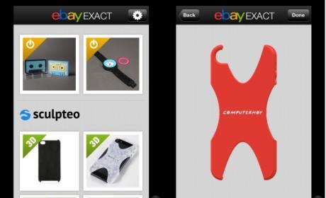 eBay Exact, una app para comprar objetos impresos en 3D