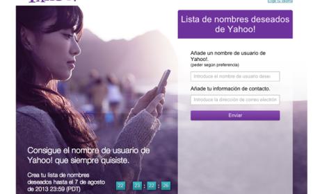 Yahoo! wishlist