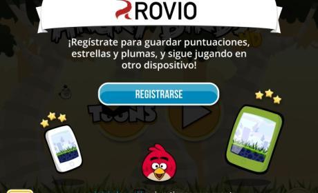 Rovio añade un sistema de cuentas a Sus juegos