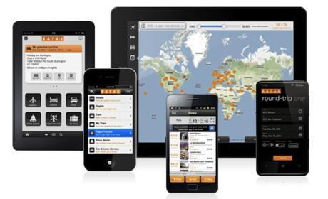 Busca vuelos en tu móvil o tableta con la app de Kayak