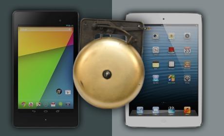 Nueva versión de la Nexus 7 no impresiona a usuarios de iPad