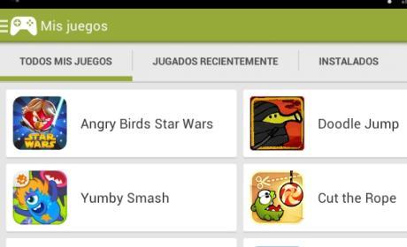 Google Play Games, ya disponible para descargar