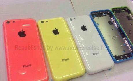 Confirmado desde China el iPhone 5C o iPhone low cost