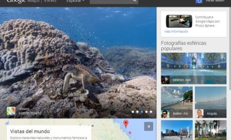 Google estrena Views, un servicio para compartir fotos panorámicas de 360 grados