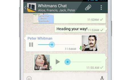 WhatsApp libera versión con mensajería de voz