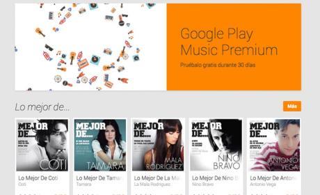 Google Play Music Premium