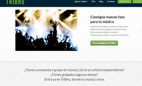 Tribhu, una red social para promocionar grupos musicales